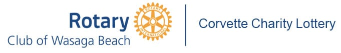 Corvette Charity Lottery   Rotary Club of Wasaga Beach and Area