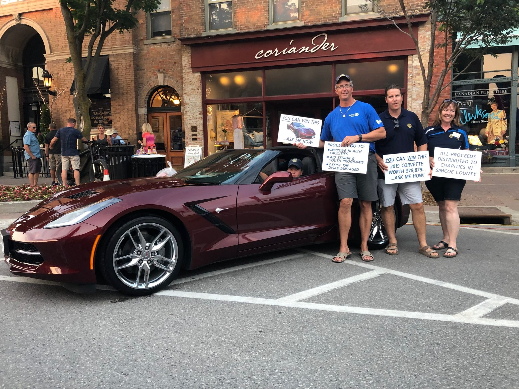 Corvette Lottery Ticket Sales Locations