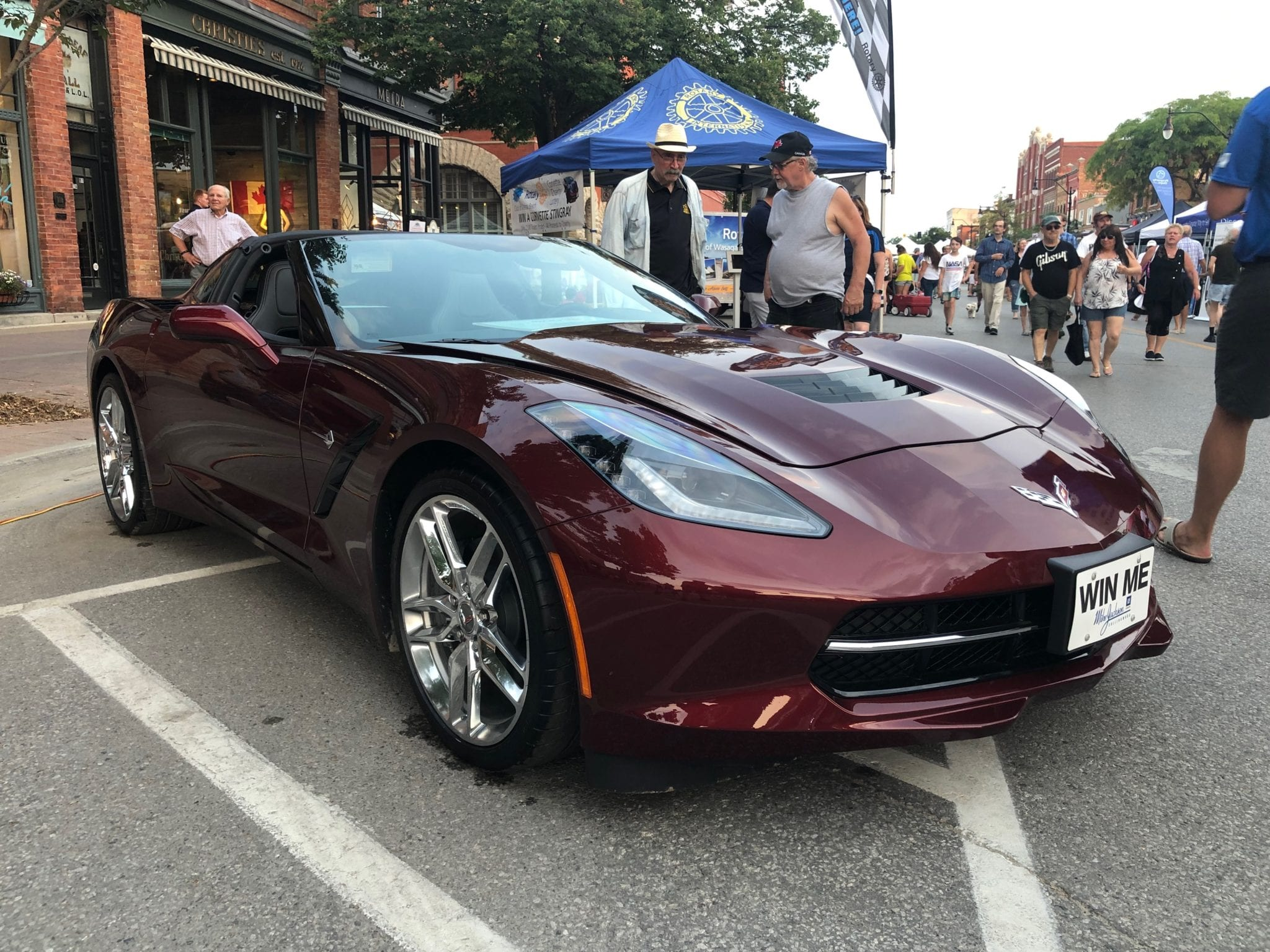 Corvette Lottery: The main prize winner takes the car